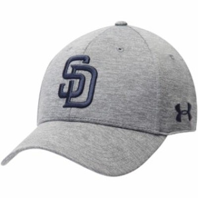Under Armour アンダー アーマー 帽子 キャップ Under Armour San Diego Padres Heathered Gray Twist Closer Performance