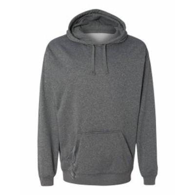 America  ファッション トップス J America Mens Tailgate Poly Fleece Hood JA8615 S-3XL