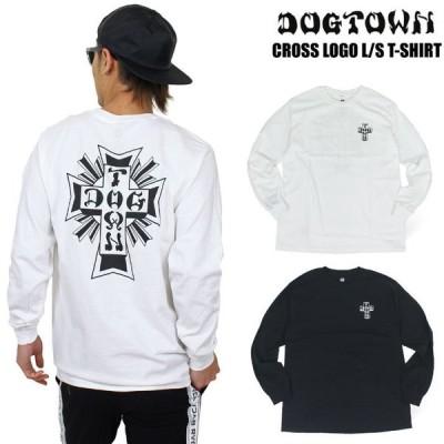 DOGTOWN ドッグタウン クロスロゴ 長袖Tシャツ ロンT CROSS LOGO メンズ サーフ DT0103001 送料無料 SALE TC