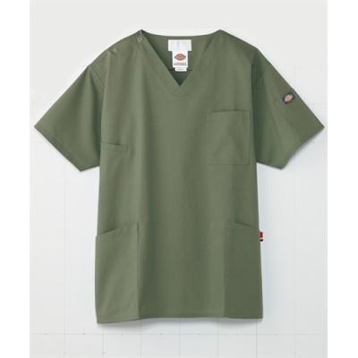 7033SC FOLK Dickies 男女兼用スクラブ ナースウェア・白衣・介護ウェア