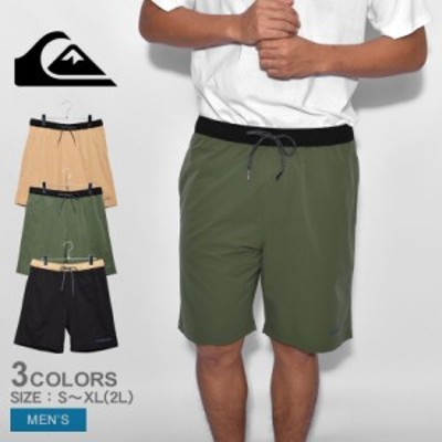 クイックシルバー パンツ メンズ UTILITY POCKET SHORTS ブラック 黒 ベージュ カーキ QUIKSILVER QWS212018 ウエア ボトムス ズボン シ