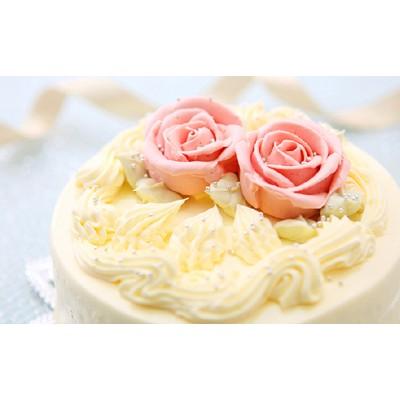 懐かしい昭和の味わい♪ バタークリームケーキ