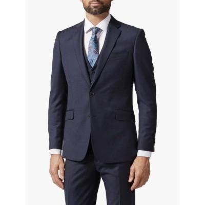 ロチャードジェームスメイフェア ジャケット&ブルゾン メンズ アウター Richard James Mayfair Pick and Pick Suit Jacket, Navy