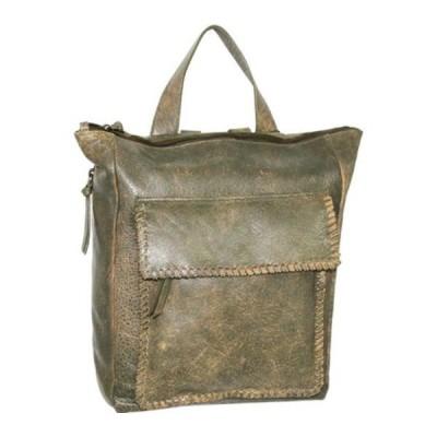 ニノボッシ バックパック・リュックサック バッグ レディース Isabelle Leather Backpack (Women's) Green