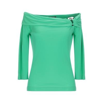CLIPS T シャツ ライトグリーン S レーヨン 72% / ポリエステル 28% T シャツ