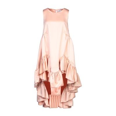 アイネア AINEA ミニワンピース&ドレス ピンク 44 ポリエステル 100% ミニワンピース&ドレス