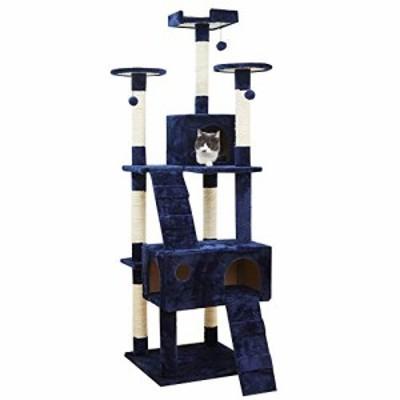 LXHONG 猫の木と塔猫登山フレーム5層構造太い脚安定した寝る快適、3色 (Col(新古未使用品)