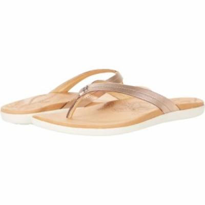 オルカイ OluKai レディース ビーチサンダル シューズ・靴 Honu Pink Copper/Sahara