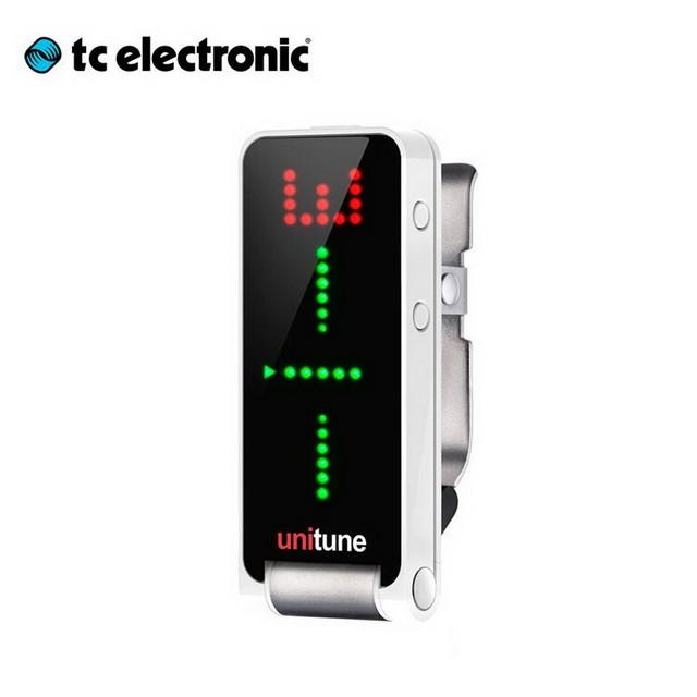 TC Electronic Unitune Clip 吉他 Bass 超精準 夾式調音器 [唐尼樂器] [公司免運]