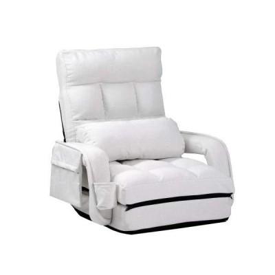 座椅子 リクライニング 14段ギア リクライニングチェアー ファブリック 座イス おしゃれ 椅子 チェアー いす イ