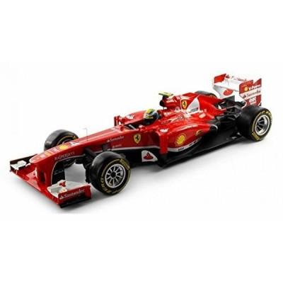 【送料無料】ミニカー 2013 - Ferrari F138 - F. Mass #4, Red - Mattel Hot Wheels BCK15 - 1/18 Scale Diecast Model Toy Car 輸入品