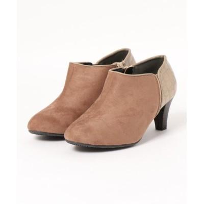 Ranan / 幅広ゆったりシンプルブーティ WOMEN シューズ > ブーツ