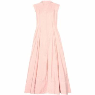 ジル サンダー Jil Sander レディース ワンピース マキシ丈 ワンピース・ドレス Striped maxi dress Light/Pastel Pink