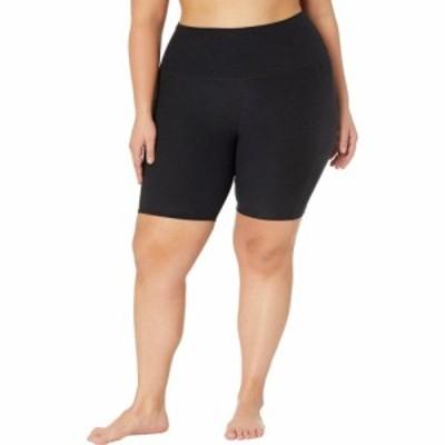 ビヨンドヨガ Beyond Yoga レディース ショートパンツ 大きいサイズ Plus Size Spacedye Team Pockets High-Waisted Biker Shorts Darkes