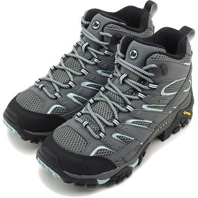 メレル MERRELL レディース モアブ2 ミッド ゴアテックス ワイド ワイズ ハイキング トレッキングシューズ スニーカー 靴 SEDONA SAGE 06060W SS19