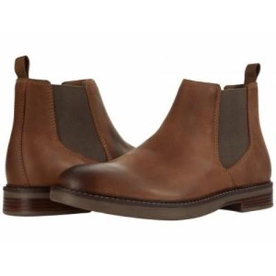 Clarks クラークス メンズ 男性用 シューズ 靴 ブーツ チェルシーブーツ Paulson Up Beeswax Leather【送料無料】