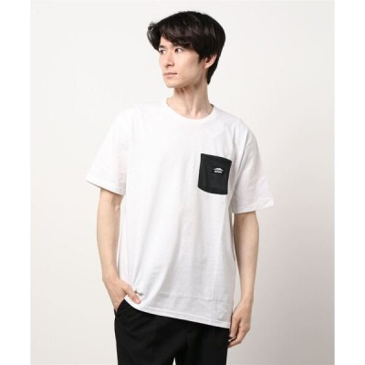 tシャツ Tシャツ 防蚊加工 ポケットTシャツ ワンポイントブランドロゴ