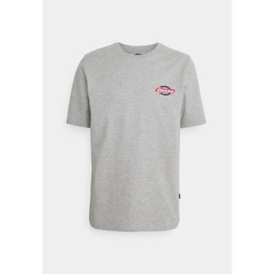 ディッキーズ メンズ ファッション RUSTON TEE - Print T-shirt - grey melange