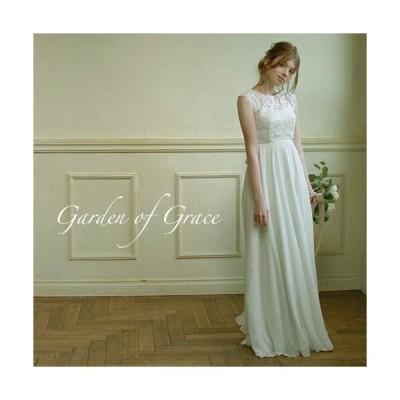 ウエディングドレス 二次会 花嫁ドレス レティチェラエンパイアドレス