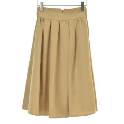ROSEBUD / ローズバッド タックフレアロング スカート