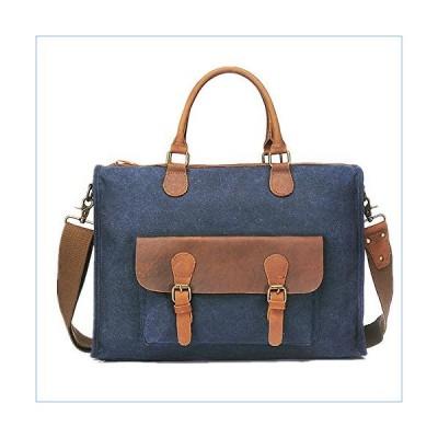 XUROM Business Briefcase Men's Briefcase Handbag Multi-Purpose Shoulder Messenger Bag Retro Bag Cross-Section Men's Bags Suitable for Business Casual