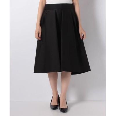 JOCONDE ROYAL/ジョコンダロイヤル シルクウールツイル スカート ブラック 40