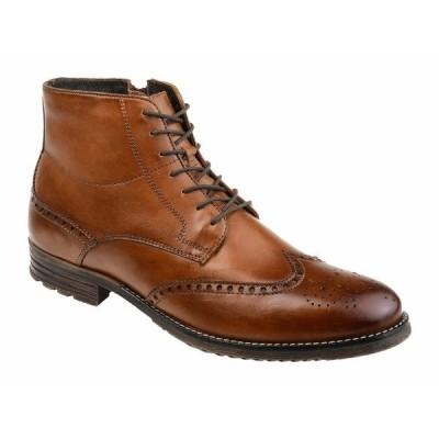 トーマス アンド バイン ブーツ&レインブーツ シューズ メンズ Ryker Wing Tip Boot Brown