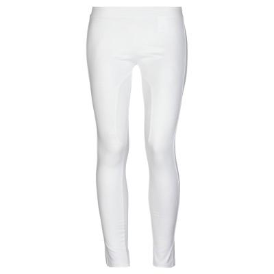 ERMANNO DI ERMANNO SCERVINO パンツ ホワイト 38 コットン 95% / ポリウレタン 5% パンツ