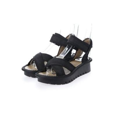 ヨーロッパコンフォートシューズ EU Comfort Shoes FLYLONDON サンダル(500.522) (ブラック)