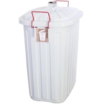 スパイス/SPICE OF LIFE ゴミ箱 ふた付き オシャレ ペール×ペール ホワイト 60L IWLY4010WH【送料無料】(6044071)