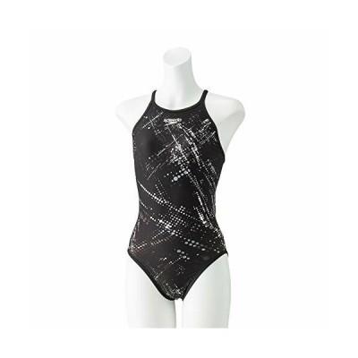 Speedo(スピード) 練習水着 レディース スーツ スプラッシュ ターンズ 競泳 トレーニング STW02060 ブラック K O