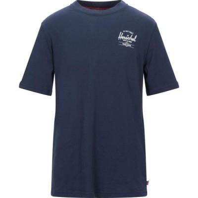 ハーシェル サプライ HERSCHEL SUPPLY CO. メンズ Tシャツ トップス t-shirt Dark blue