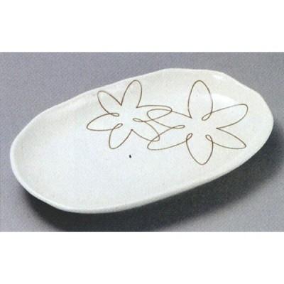ゆうか白スパ皿  (楕円皿・盛皿)