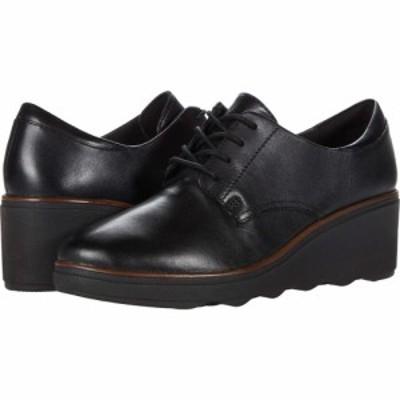 クラークス Clarks レディース シューズ・靴 Mazy Hyannis Black Leather