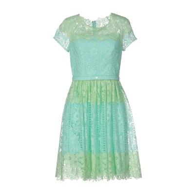 ブルマリン BLUMARINE ミニワンピース&ドレス ライトグリーン 42 ポリエステル 85% / ナイロン 15% ミニワンピース&ドレス