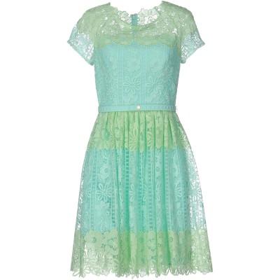 ブルマリン BLUMARINE ミニワンピース&ドレス ライトグリーン 38 ポリエステル 85% / ナイロン 15% ミニワンピース&ドレス