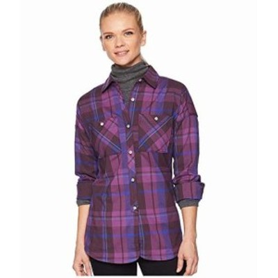 マウンテン ハードウェア レディース シャツ トップス Acadia Stretch? Long Sleeve Shirt