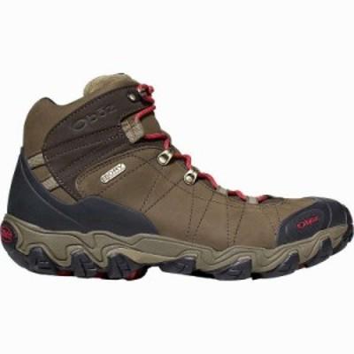 (取寄)オボズ メンズ ブリッガー ミッド B-Dry ハイキング ブーツ Oboz Men's Bridger Mid B-Dry Hiking Boot Olive