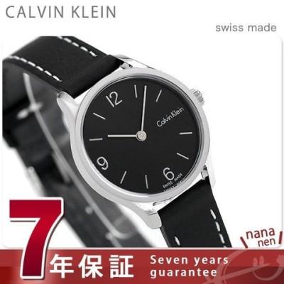カルバンクライン CALVIN KLEIN レディース 腕時計 革ベルト K7V231C1 エンドレス 26mm