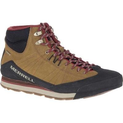 メレル メンズ ブーツ・レインブーツ シューズ Merrell Men's Catalyst Mid Suede Waterproof Shoe