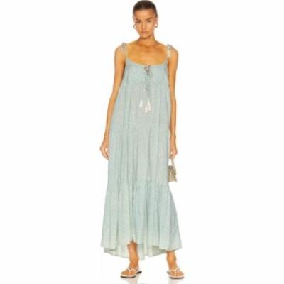 ナタリー マーティン Natalie Martin レディース ワンピース ワンピース・ドレス January Dress Coral Light Blue