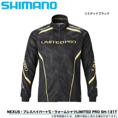 シマノ ネクサス ブレスハイパー+ ℃ ウォームシャツ LIMITED PRO SH-131T (カラー:リミテッドブラック) /保温/吸湿発熱/2020年秋冬モデル /(5)