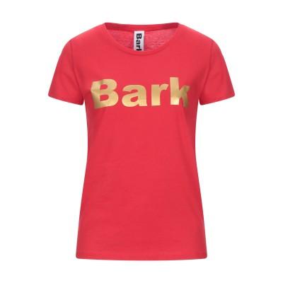 バーク BARK T シャツ レッド M オーガニックコットン 100% T シャツ