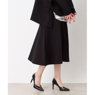 Rouge vif la cle/ルージュ・ヴィフ ラクレ ダンボールスカート ブラック 36