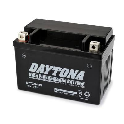 DAYTONA:デイトナ DAYTONA ハイパフォーマンスバッテリー 液入り充電済 【DYTX9-BS】