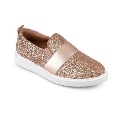 ジャーニーコレクション スニーカー シューズ レディース Women's Luster Sneaker Rose Gold