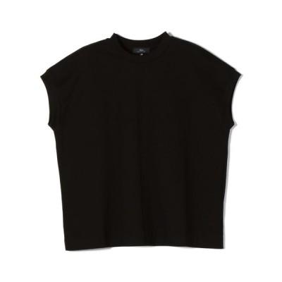 SHIPS for women / PrimaryNavyLabel:SUVINコットンフレンチスリーブプルオーバー WOMEN トップス > Tシャツ/カットソー