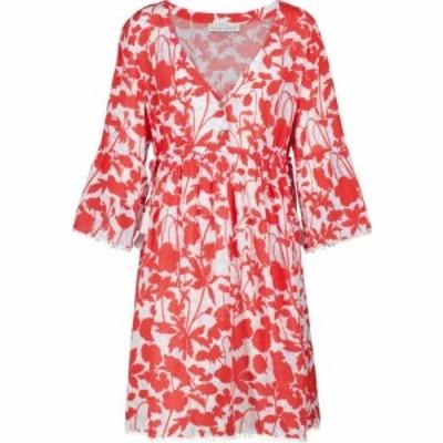 ハイジ クライン Heidi Klein レディース ワンピース カフタンワンピース ミニ丈 ワンピース・ドレス Sardinia floral cotton kaftan min