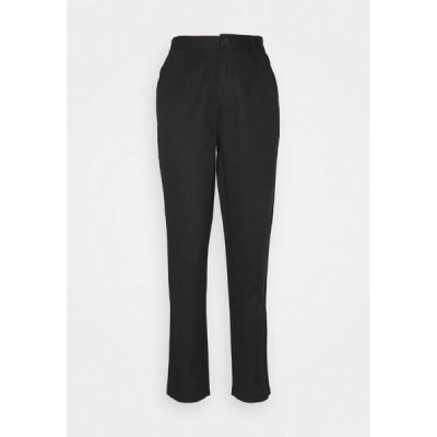 トミーヒルフィガー カジュアルパンツ レディース ボトムス PLEAT DETAIL - Trousers - black