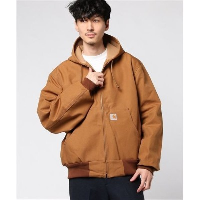 ジャケット ブルゾン Carhartt (カーハート) Thermal-Lined Duck Active Jacket サーマルライナー ダックアク